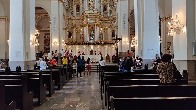 Celebran Misa de Resurrección en Catedral de Hermosillo