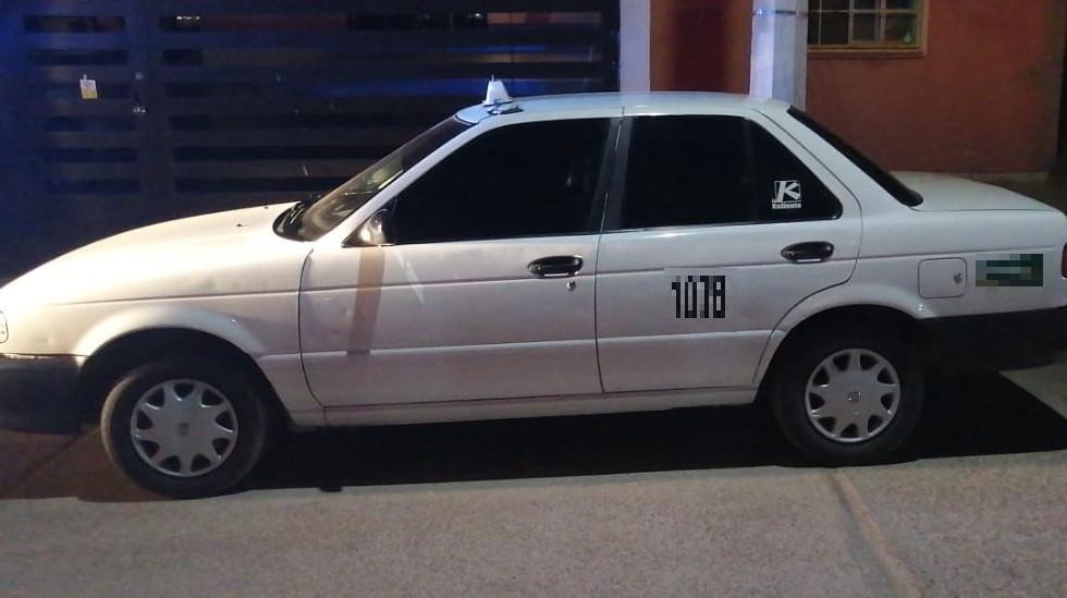 Policía Municipal recupera taxi robado en Hermosillo
