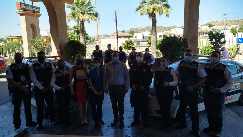 Reactivan a la Policía Turística de Hermosillo, brindarán apoyo y seguridad a visitantes