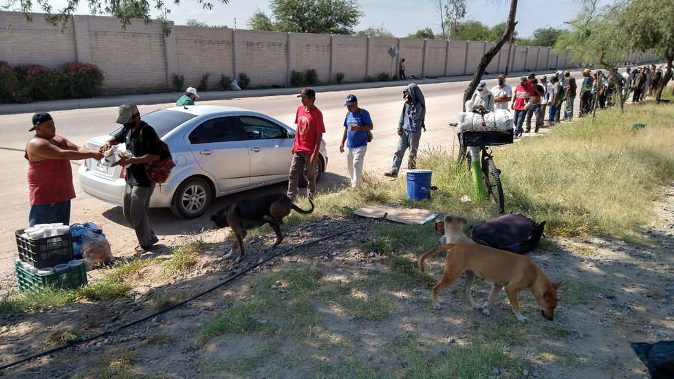 Preparan Comedor del Migrante en caos de caravanas de haitianos en Hermosillo