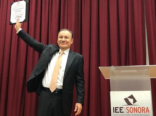 Declaran a Alfonso Durazo Gobernador electo de Sonora