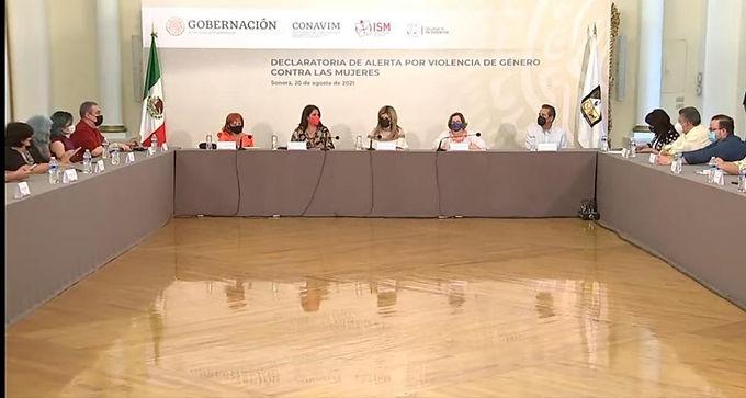 Emiten Declaratoria de Alerta por Violencia de Género Contra las Mujeres para Sonora