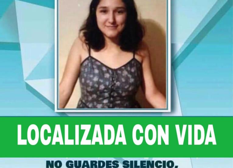 Localizan con vida a Wendy Rubí, joven reportada como desaparecida en Hermosillo