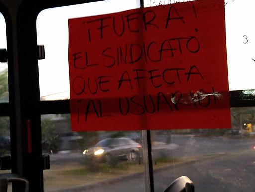 Archivan huelga del transporte público de Hermosillo