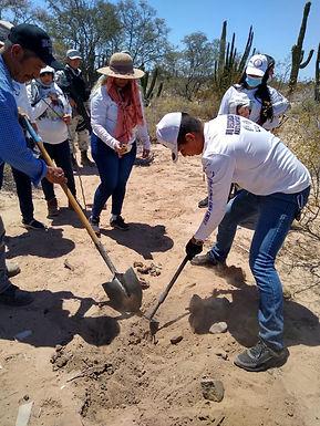 Encuentran Madres Buscadoras de Sonora restos humanos en su rastreo de aniversario