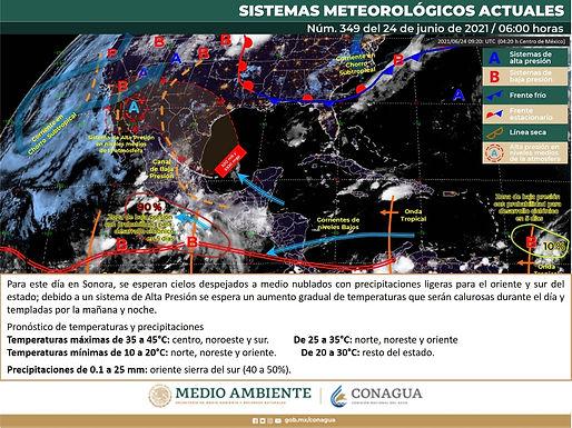 Altas temperaturas y falta de lluvias se esperan en Hermosillo el fin de semana
