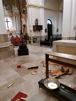 Detienen a hombre que presuntamente provocó daños en Catedral