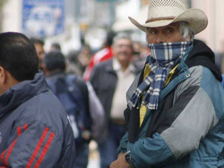 Se presenta la primera temperatura bajo cero en Sonora de la temporada