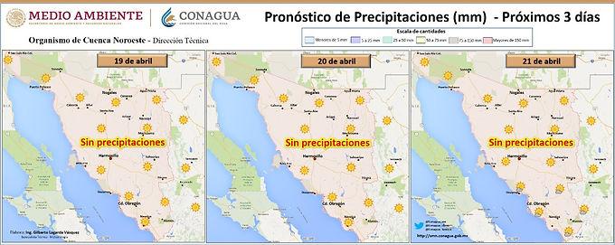 Llegará nuevo frente frío a Sonora, pero antes incrementarán las temperaturas