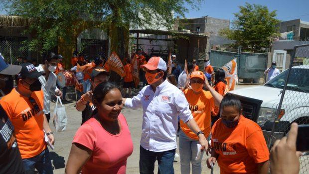 Visitan aspirantes a la alcaldía de Hermosillo, colonias en acercamientos con la ciudadanía
