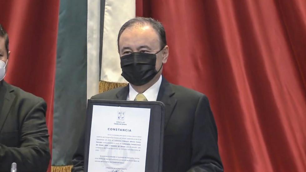 Alfonso Durazo instaló la Mesa Estatal de Seguridad en su primer acto como Gobernador