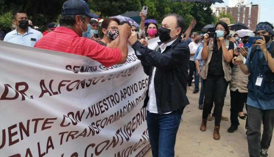 Exigen reinstalación de cinco empleados de OOMAPAS San Luis Río Colorado