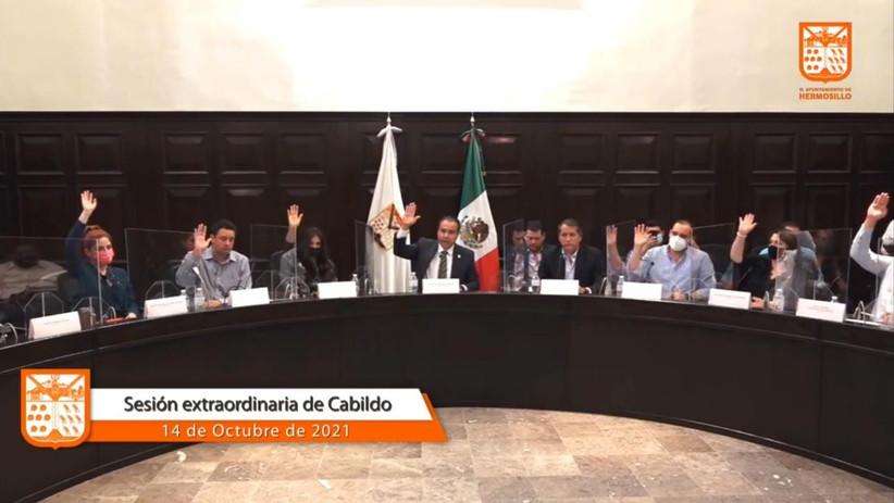 Aprueban por mayoría paquete de obras por 550 millones de pesos para Hermosillo