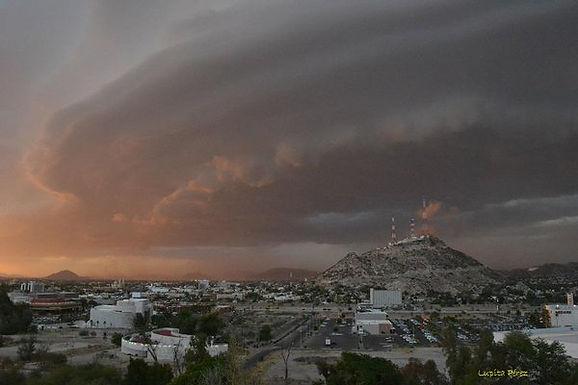 Bombardearan nubes en Sonora para provocar lluvias