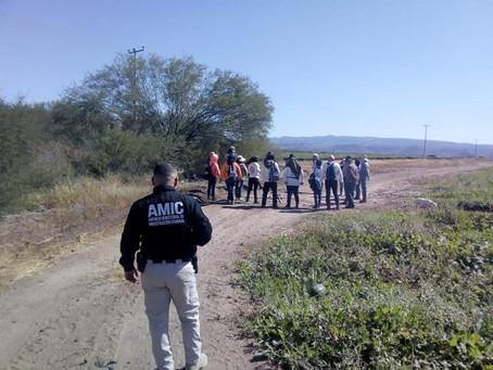 Localizan Madres Buscadoras a un hombre sin vida en Nogales