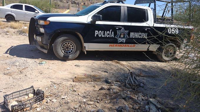 Hombre fue encontrado sin vida rumbo a la mina Niko en Hermosillo