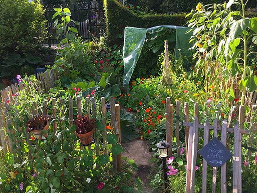 urban garden kitchen garden kitchengarden allotment potager