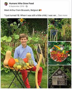 Humans Who Grow Food