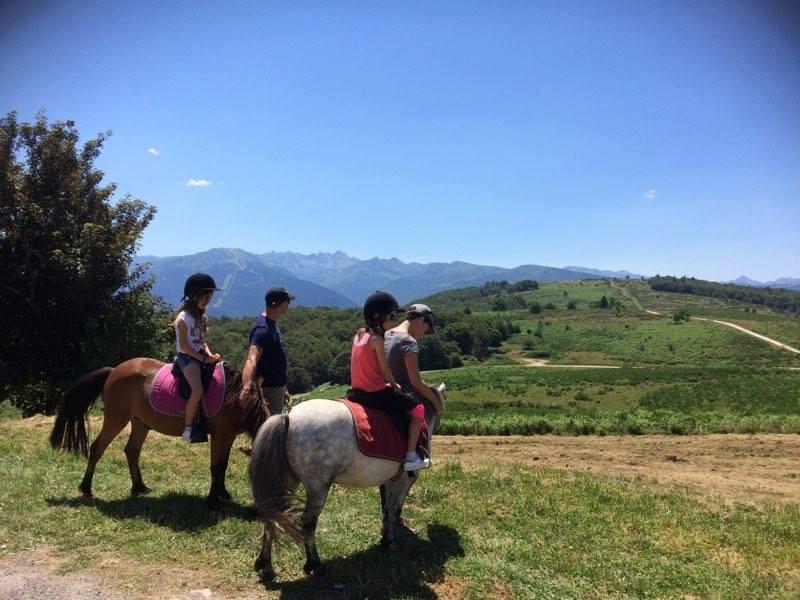 Balade à poneys en Ariège
