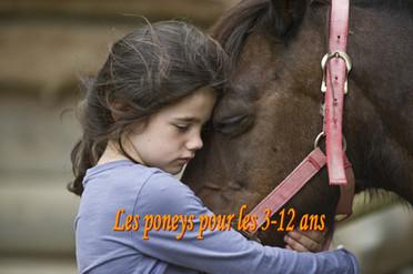 Balade à poney pour les 2- 8 ans