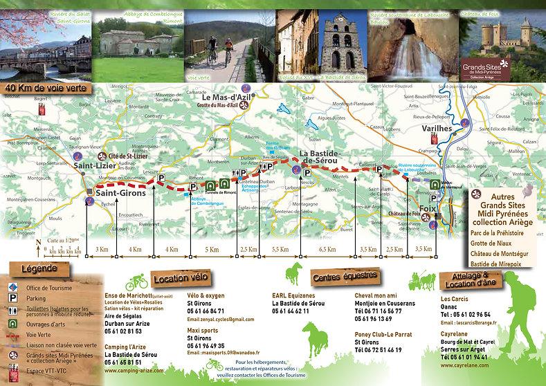 Voie verte Foix- Saint Girons