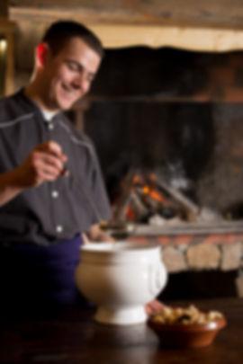 restaurant, montagne, feu de bois, grillades, table du boulanger, Yannick Schmitt, chef cuisinier, Ariège
