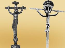 Krucifiks begge