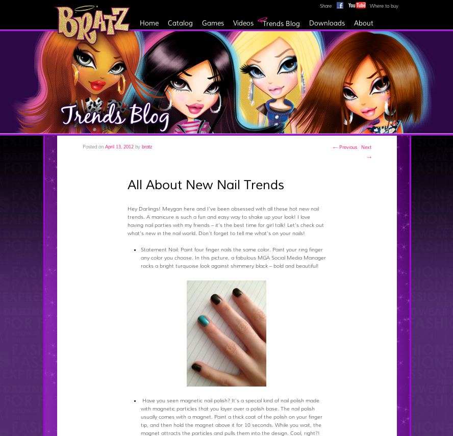 Bratz® Trends Blog