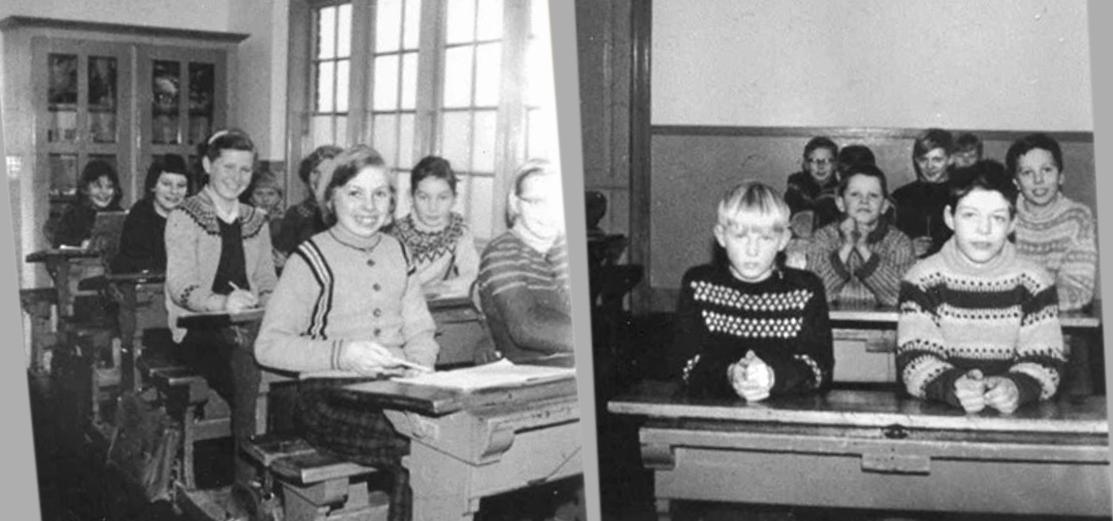 Elever fra Drastrup 1958