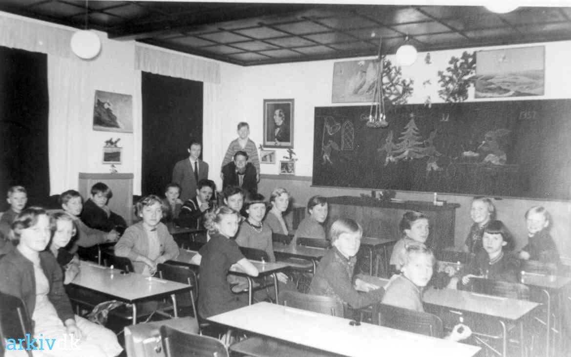 Juleafslutning 1957