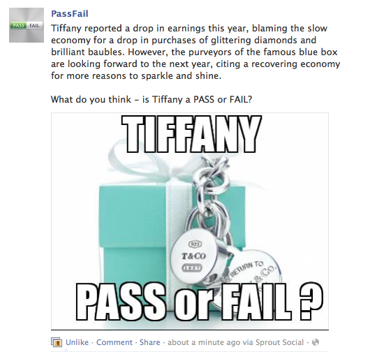 PassFail Social Media Copy