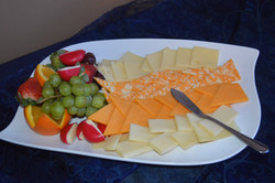 Assorted cheeses