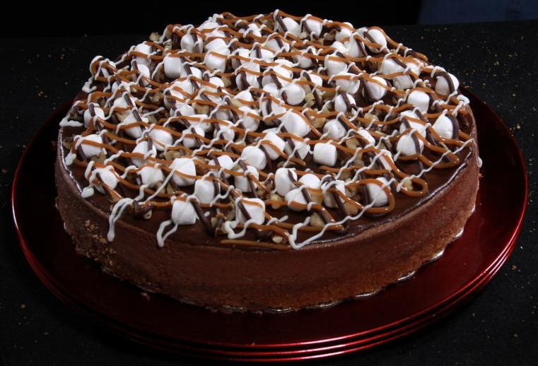 Rocky Road Cheesecake