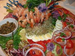 Smoked Salmon and Shrimp Display