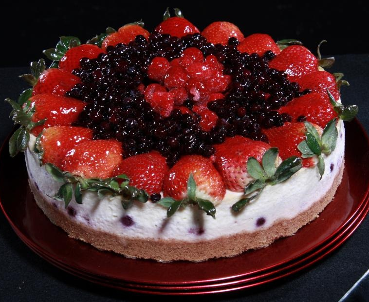 MultiBerry Cheesecake