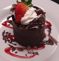 Chocolate Cheesecake Tower