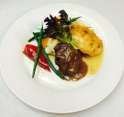 Custom Beef & Chicken Entree