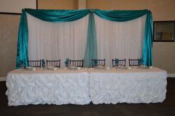 2015 Wedding - Head Table