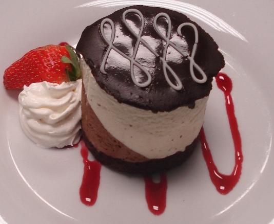 Individual Belgian Mousse Cake