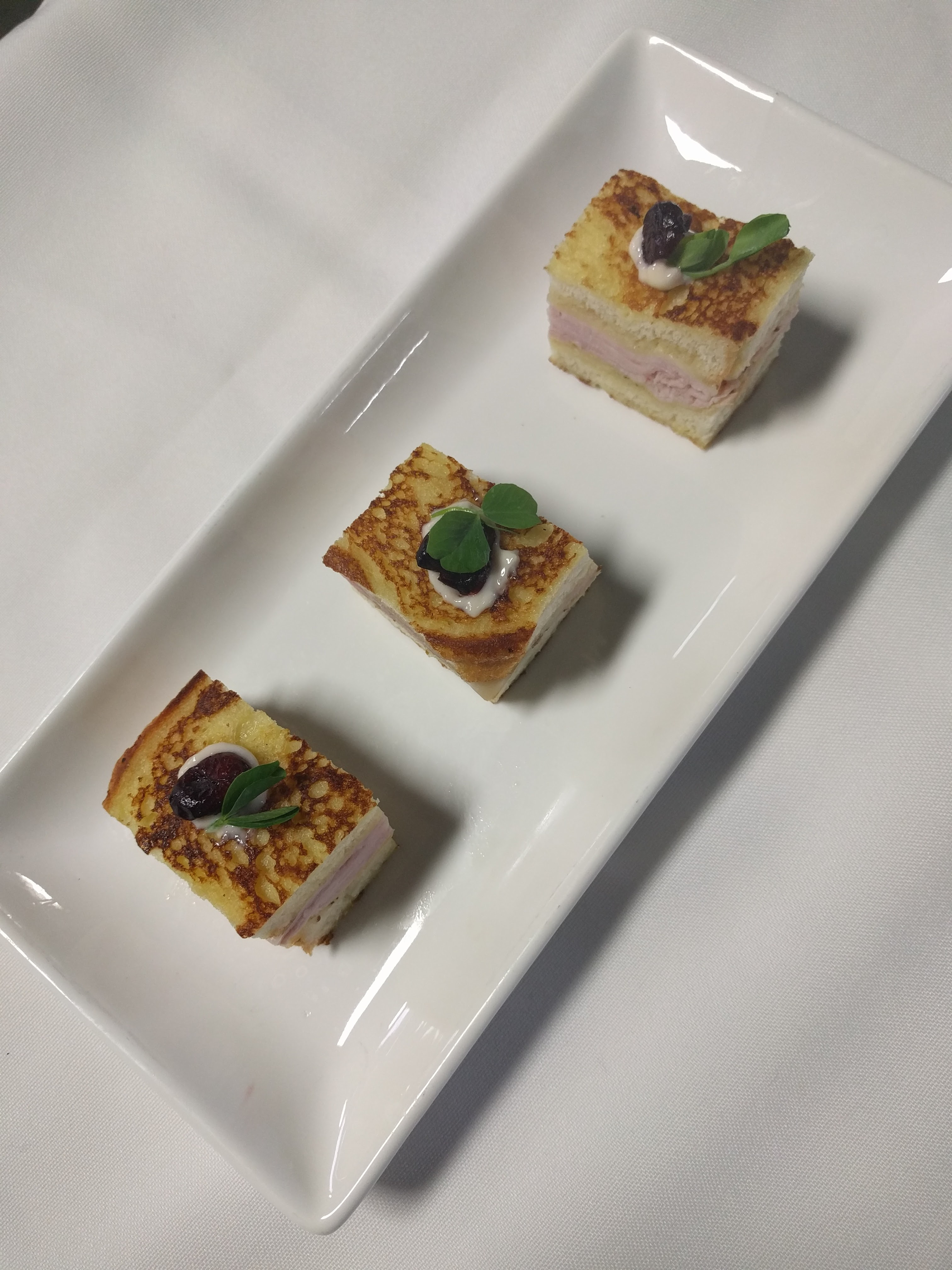 Mini Ham and Cheese Sandwich