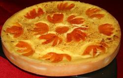 Apricot Flan