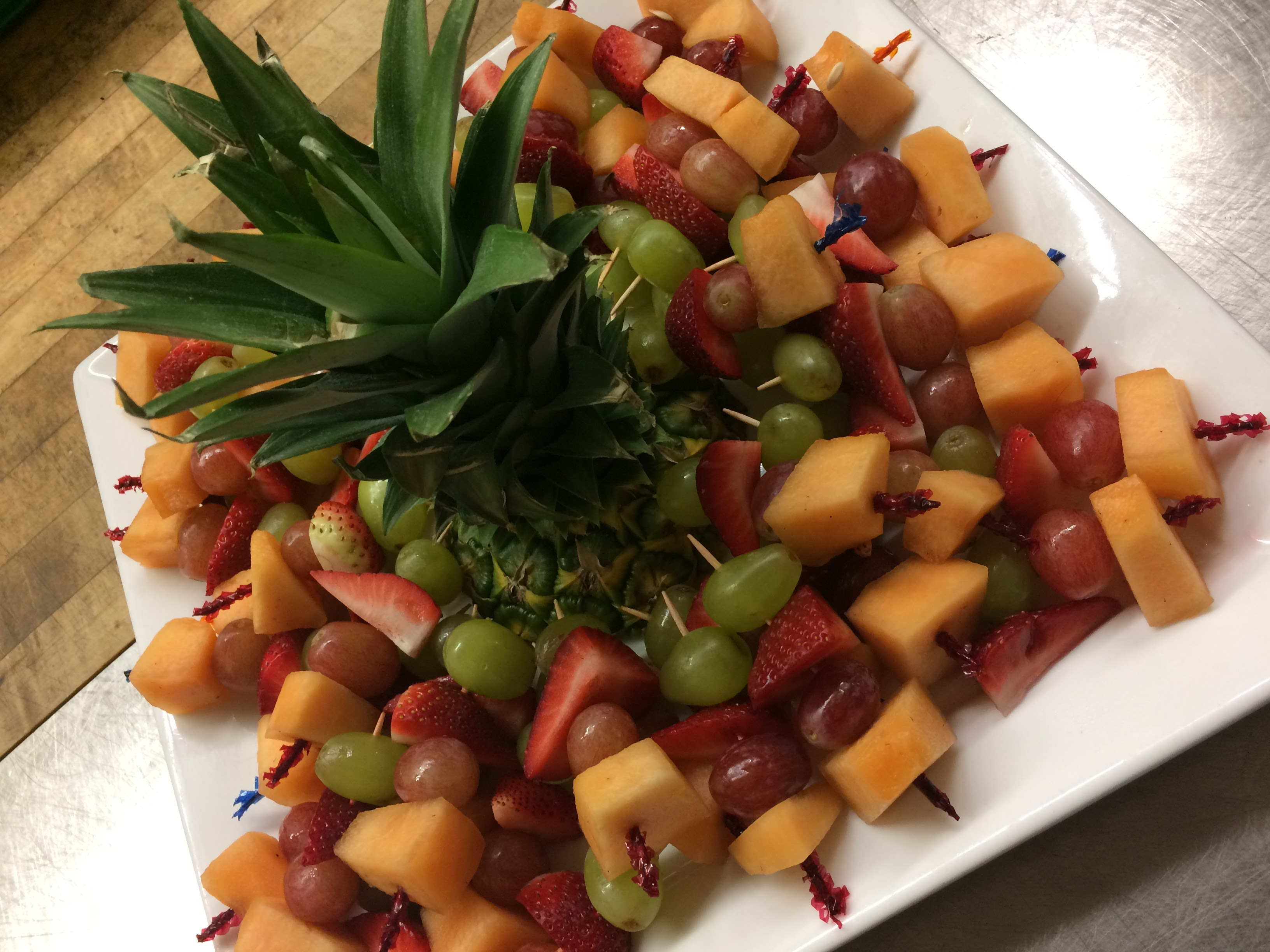Mini Fruit Kabob Platter