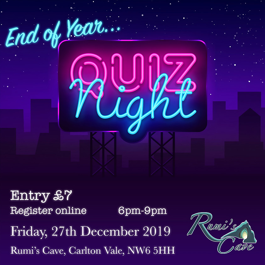 End Of Year Quiz Night