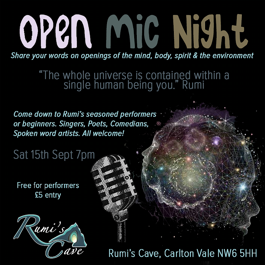 Open Mic Night: Openings