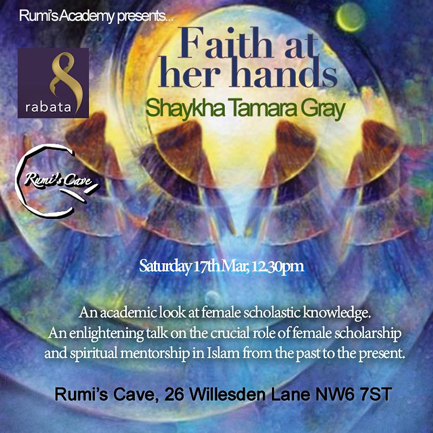Faith at her hands