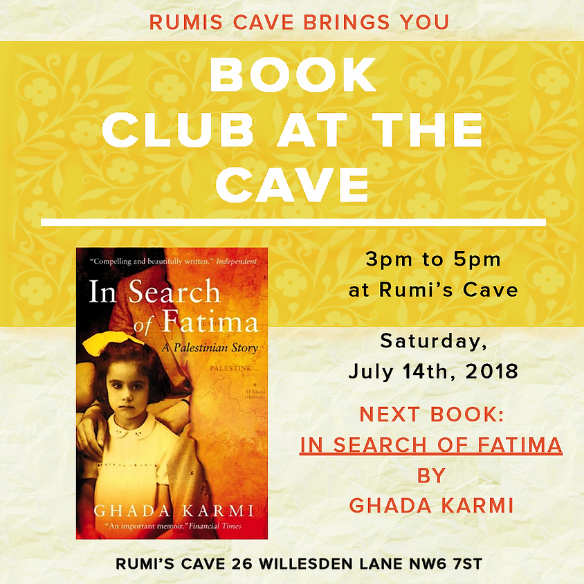 "Rumi's Book Club: "" In Search of Fatima"" by Ghada Karmi"