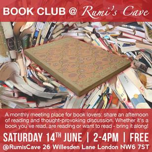 BOOK CLUB @ RUMI'S CAVE / June 2014