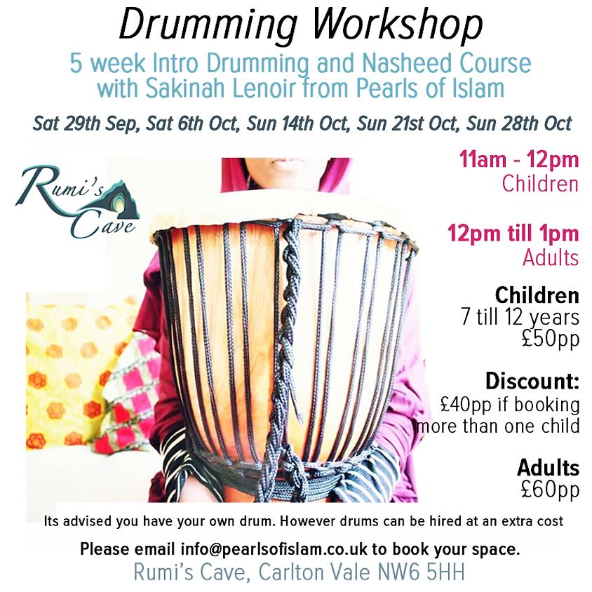 5wk Intro Drumming and Nasheed Course - Sakinah le Noir