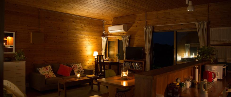 living area at night inside phumula.jpg