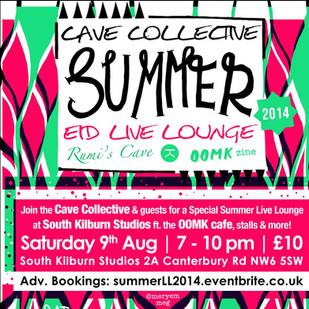 CAVE COLLECTIVE SUMMER LIVE LOUNGE